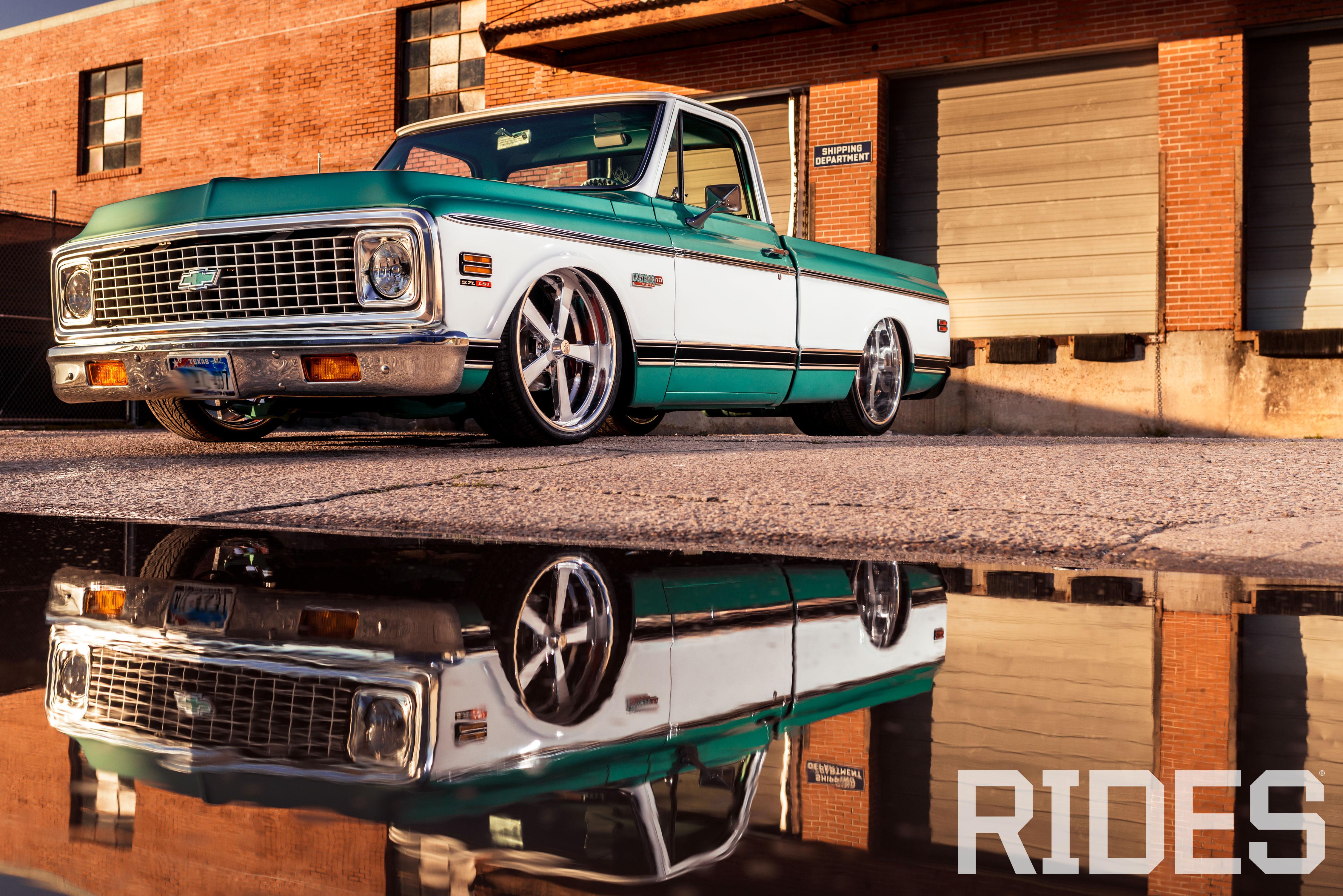 1971 Chevy C10 Long Bed Slammed