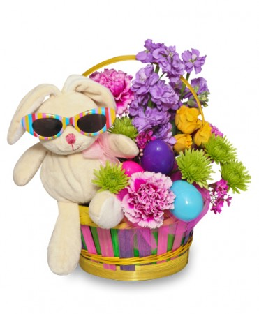 EASTER BUNNY BOUQUET Easter Flowers   Easter   Flower Shop Network EASTER BUNNY BOUQUET Easter Flowers