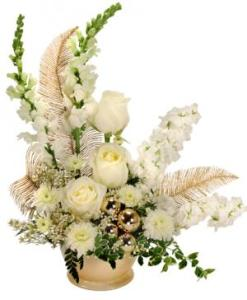 Winter flowers arrangement   KARA S FLOWERS  Groveland FL GLITZY GATSBY Arrangement in Groveland  FL   KARA S FLOWERS