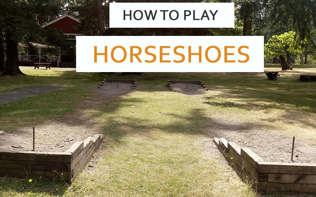 Games Backyard Horseshoes