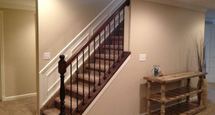 Cool Home Depot Stair Railing Stain Color Barb Homes   Home Depot Stair Handrail   Aluminum Stair   Wood   Balusters   Porch Railings   Oak Stair