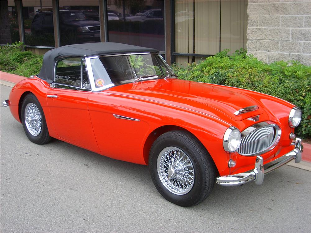 1963 austin healey 3000 mark ii bj7 sports convertible   70693     1963 AUSTIN HEALEY 3000 MARK II BJ7 SPORTS CONVERTIBLE   Front 3 4