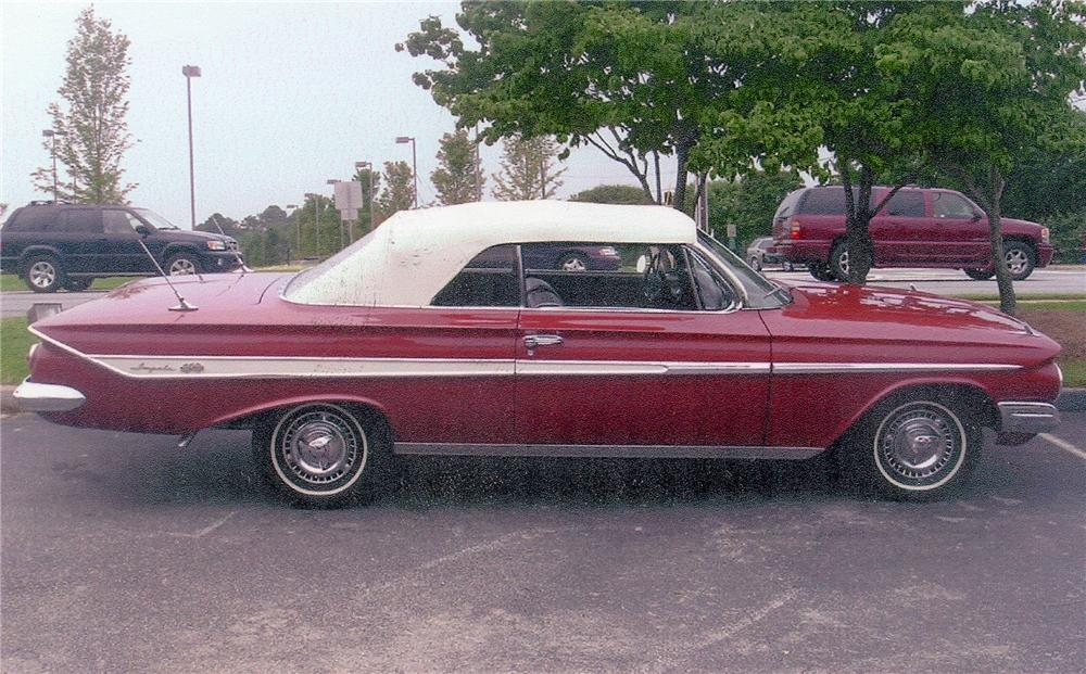 Convertible 1961 Impala Chevy Ss Project