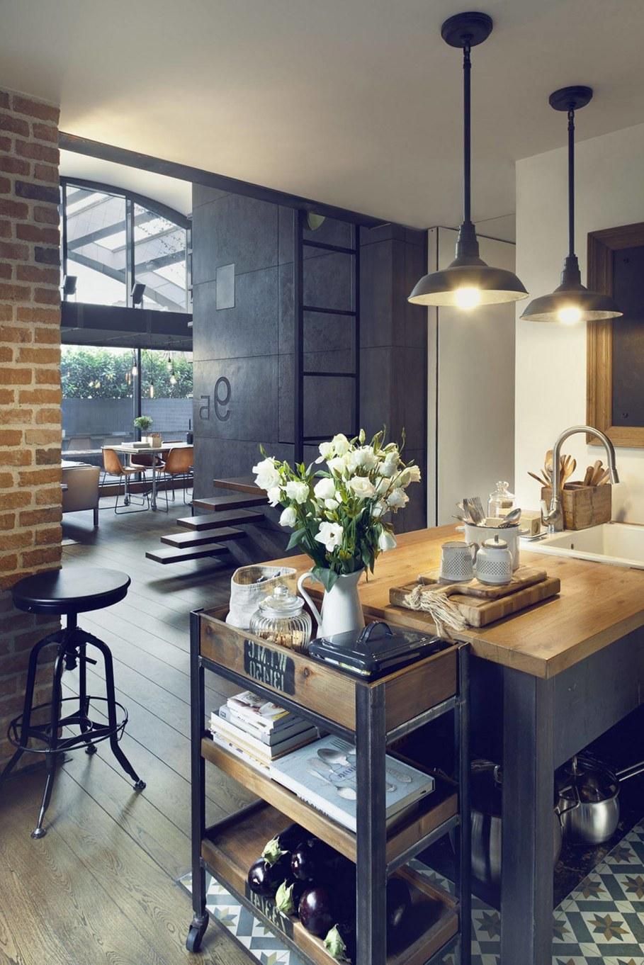 Attic Apartment By Dimitar Karanikolov