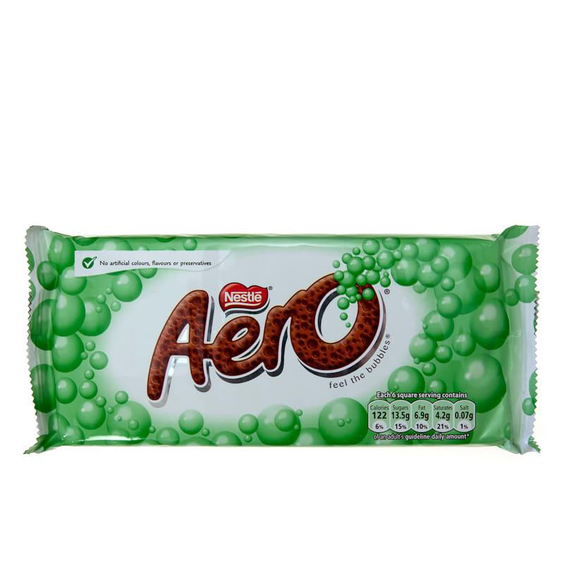 B Amp M Nestle Aero Mint 110g 245431 B Amp M