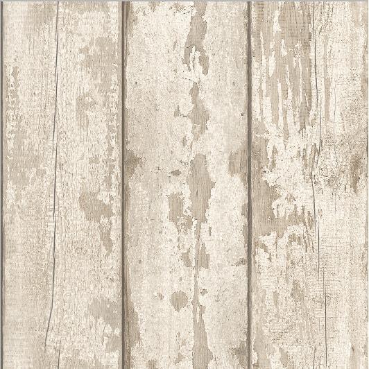 Arthouse White Washed Wood Wallpaper Decorating Diy B Amp M