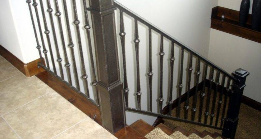 Everyone Is Obsesed With These 21 Stair Railings Indoor Design   Indoor Wrought Iron Railings Home Depot   Balusters   Wood   Iron Stair Rail   Stair Parts   Front Porch Railings