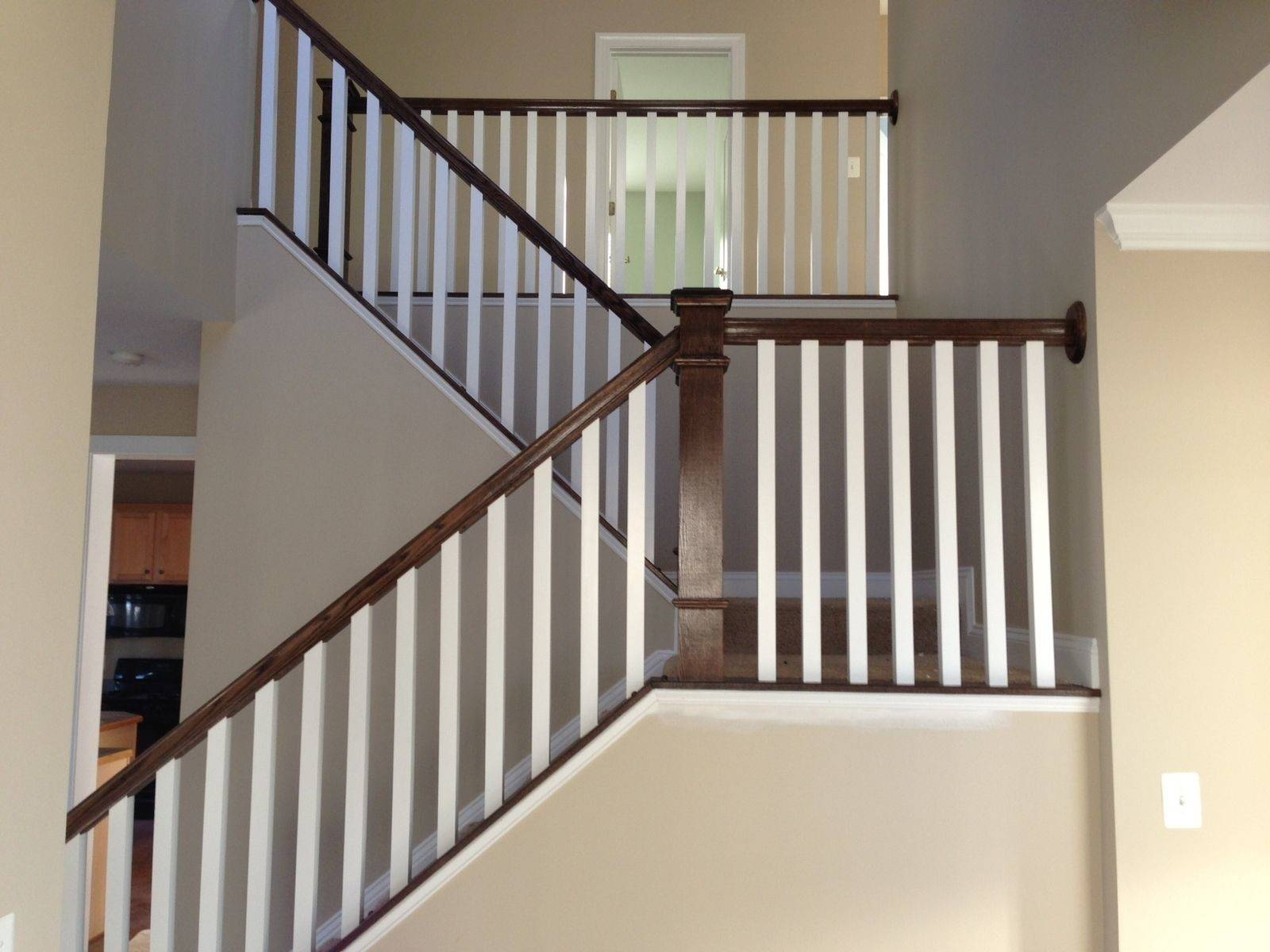 Stairs Amazing Stair Railings Indoor Home Depot Homes Decor | Iron Spindles Home Depot | Ole Iron Slides | Wm Coffman | Stair Parts | Oil Rubbed | Deck