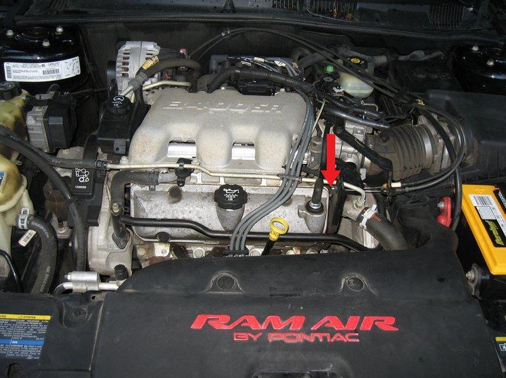 Pontiac Gaskets Grand Intake Prix 2000 Upper