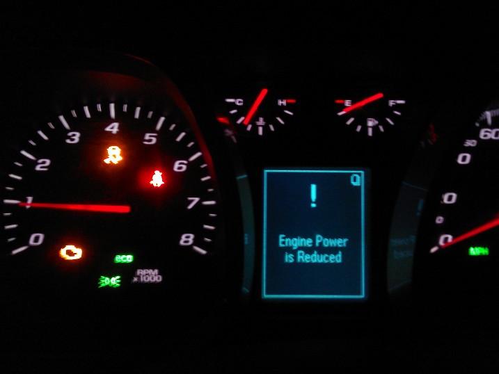 2010 Camaro Warning Lights