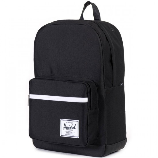 Herschel Pop Quiz Backpack - Black/Black/White