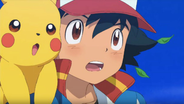 Ash Pokemon Reboot Pikachu And