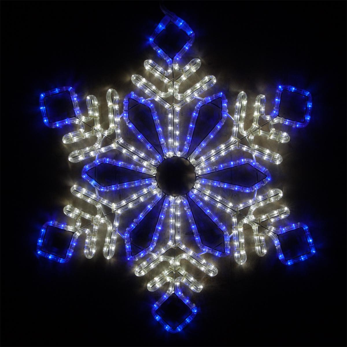 Christmas Lights Snowflakes