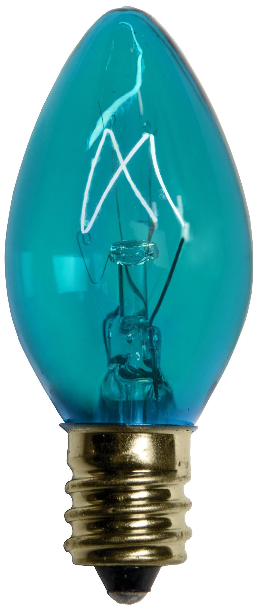 Light Bulb Teal