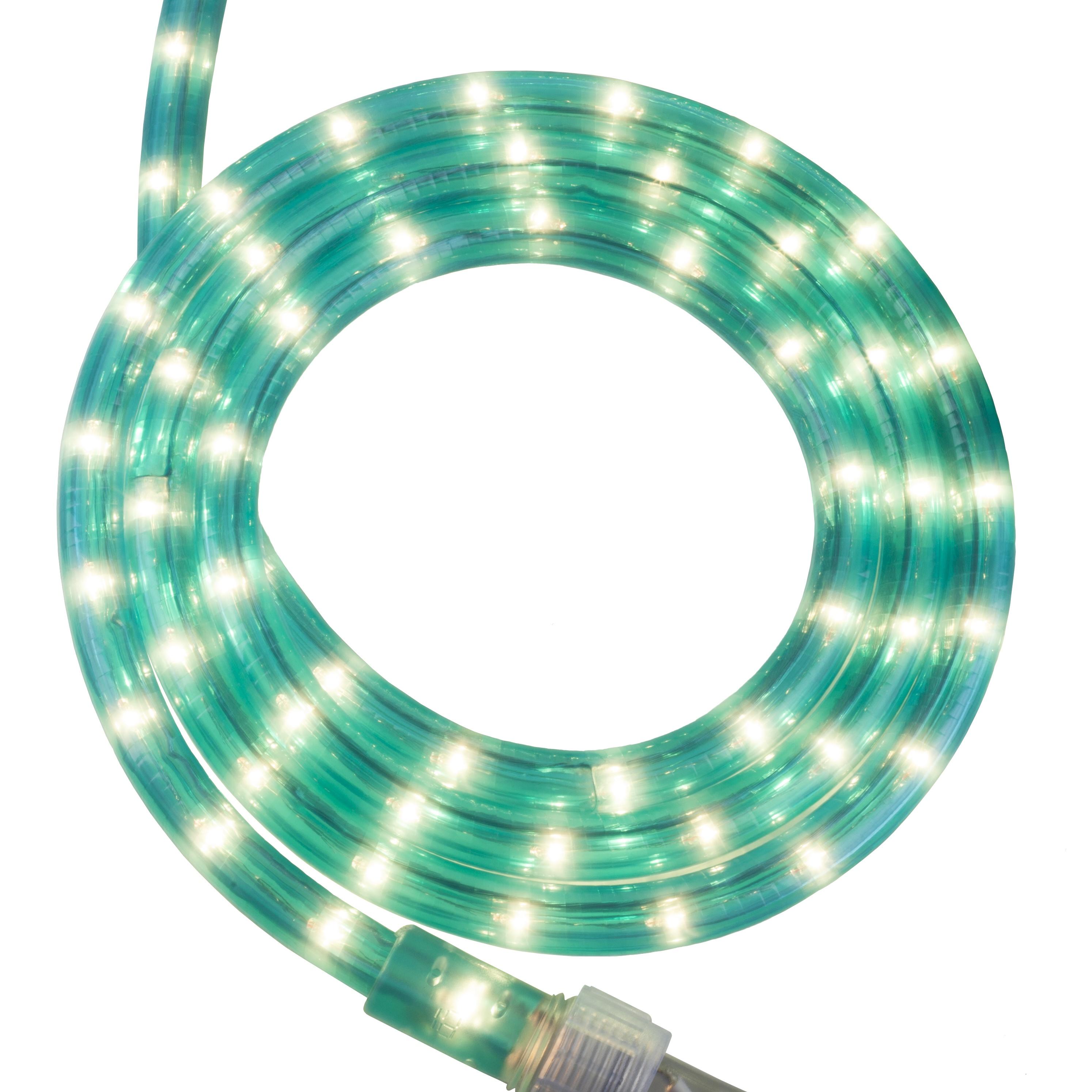 Rope Lighting 18 Aqua Blue Rope Light 120 Volt
