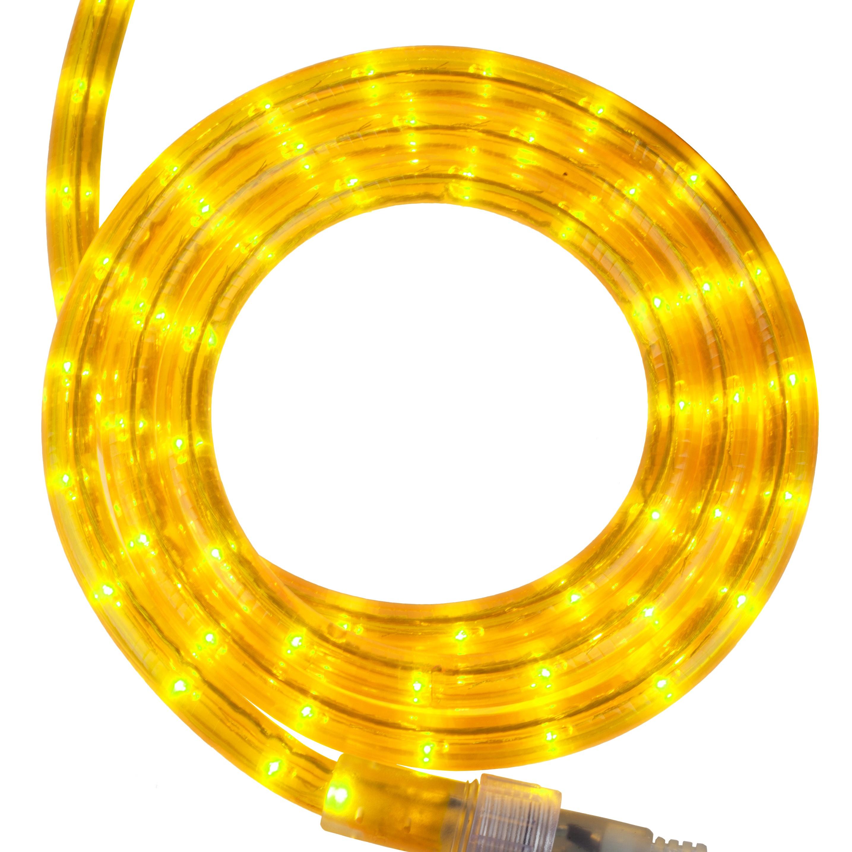Rope Lighting 12 Yellow Rope Light 120 Volt