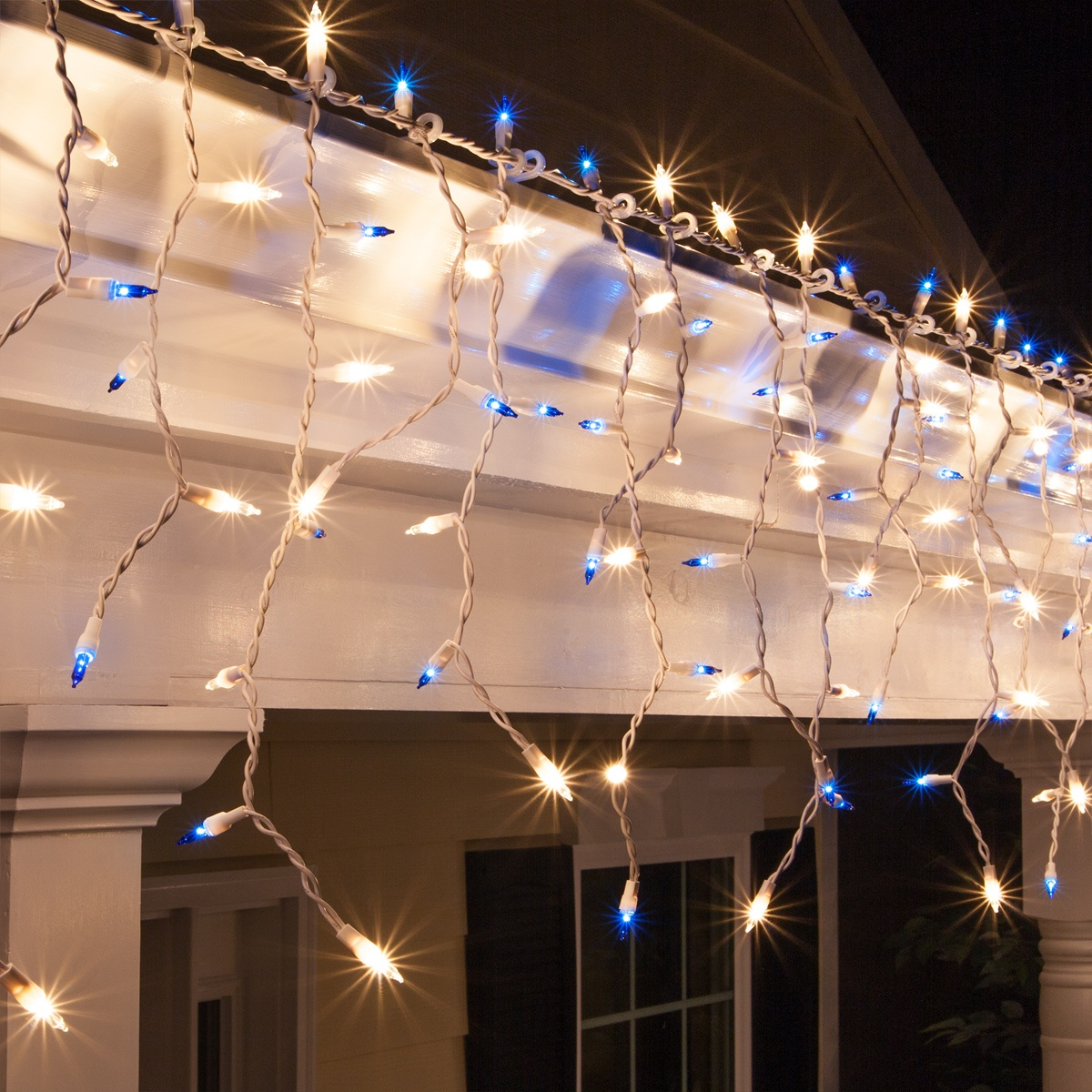 Blue Christmas Lights Led