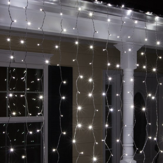 Christmas Lights Curtain