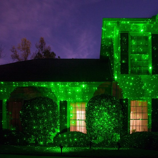 Laser Projection Christmas Lights
