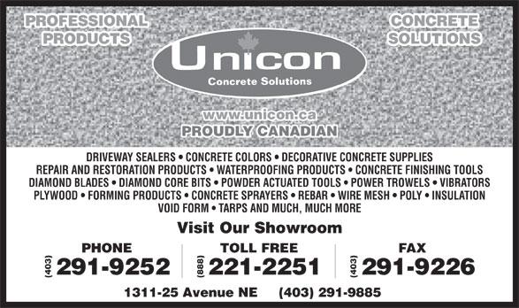 National Concrete Accessories Winnipeg