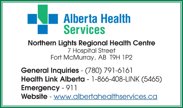 Northern Lights Hospital Fort Mcmurray