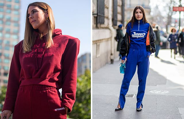 How to Wear a Tracksuit and Look Chic   Who What Wear UK Tip  4  Go All Out