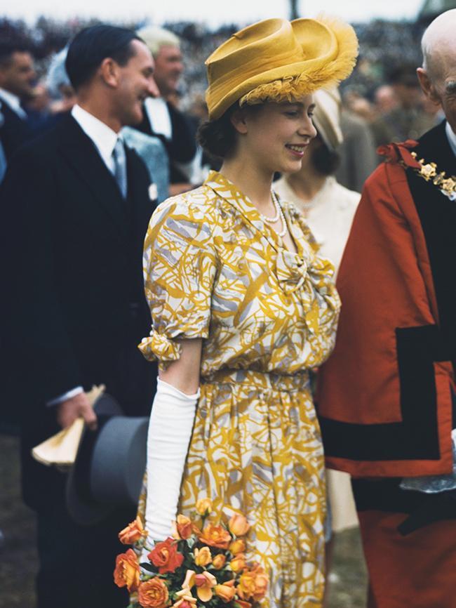 Dress Vintage Polka Dot Yellow