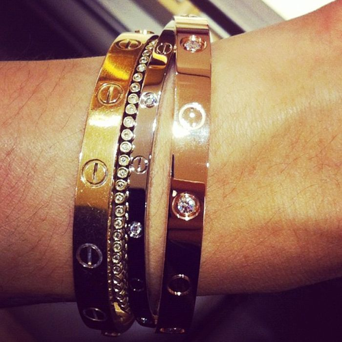Cartier Love Bracelet  Why It s Still as Popular As Ever   Who What     Pinterest Photo