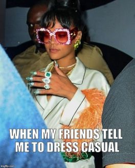 Our Personal Style Described in Fashion Memes   Who What Wear Pinterest Photo