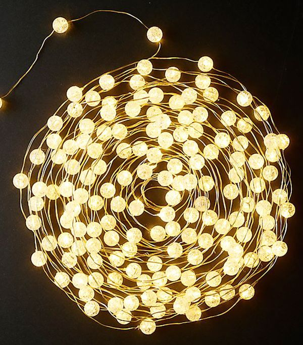 Restoration Hardware Northern Globe String Lights