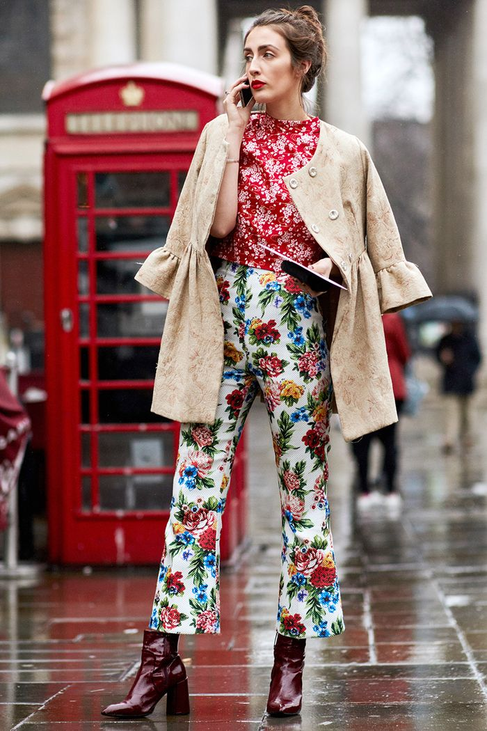 It S Never Been Easier To Mix And Match Prints Who What Wear