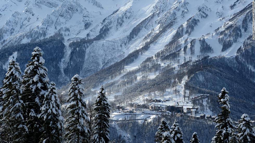 Winter Russia Olympics Sochi