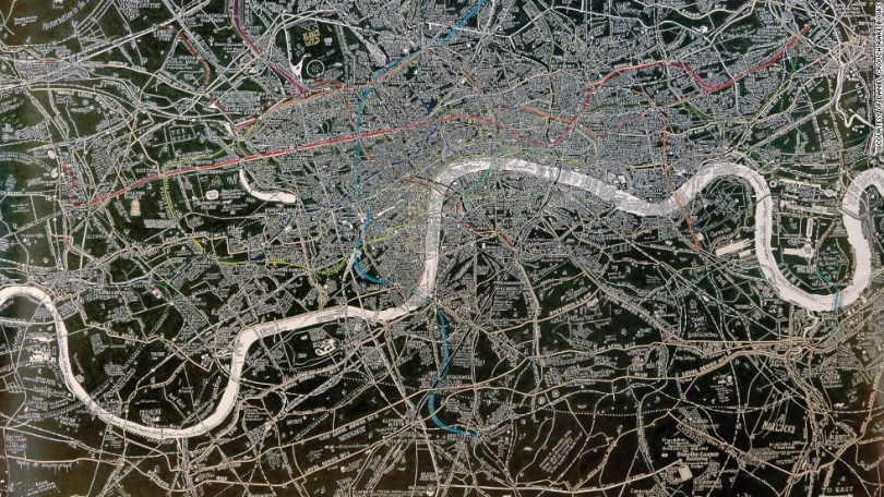 9 maps that reveal London s secret history  from Shakespeare till     9 maps that reveal London s secret history  from Shakespeare till today  Style