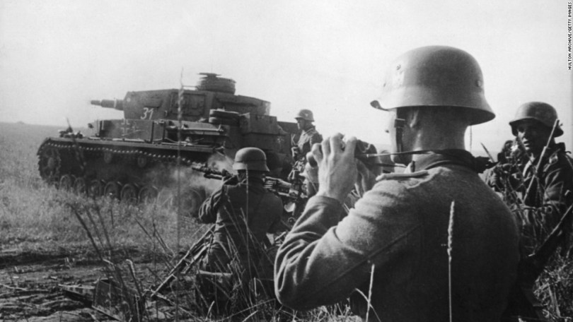 World War II Fast Facts   CNN German tanks and infantry attack Soviet positions on the Eastern Front  On  June 22   Photos  World War II