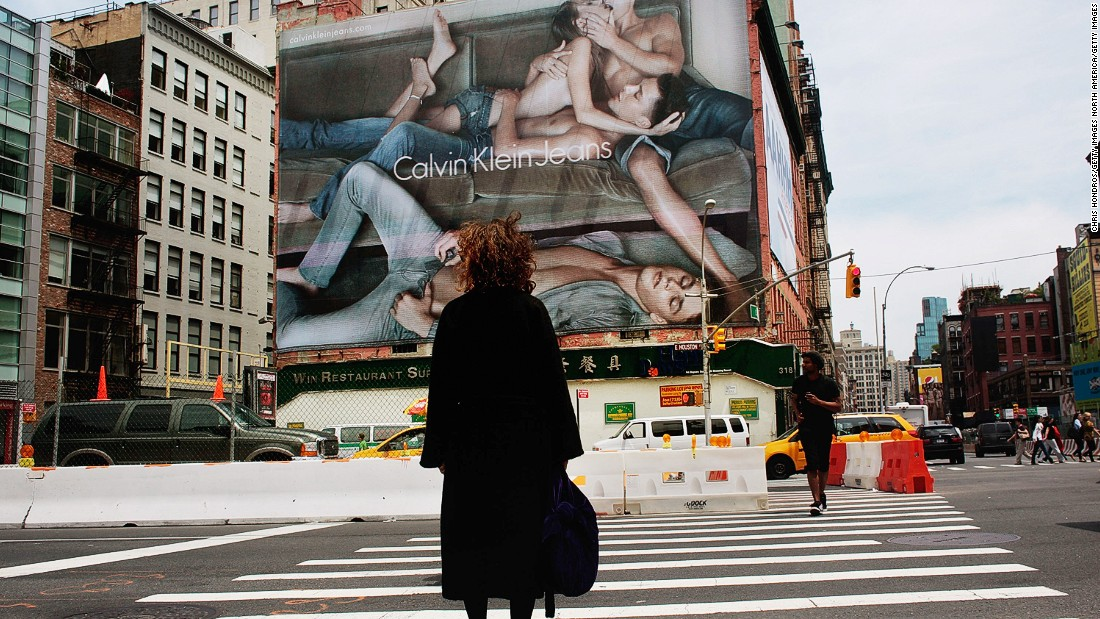 What's the fuss over Calvin Klein ads? - CNN