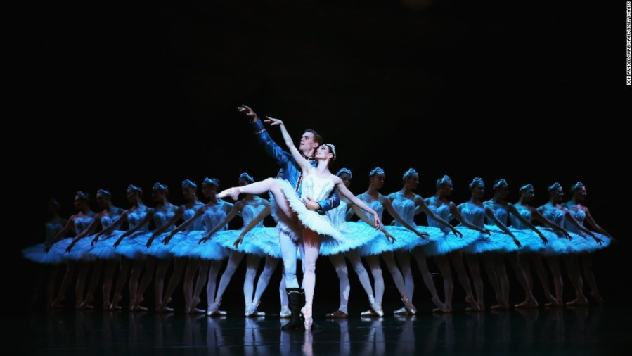 2016  The year in entertainment Dancers with the Australian Ballet rehearse  quot Swan Lake quot  at the  Sydney Opera House