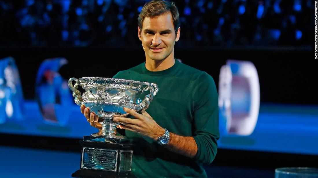 Australian Open Roger Federer Begins Title Defense