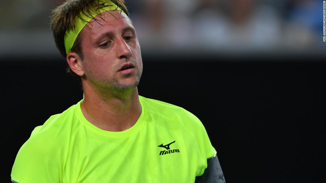 Tennys Sandgren Tennis Star Under Scrutiny For Tweets Cnn