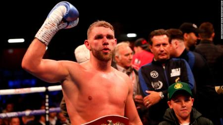 World Champion Boxer Billy Joe Saunders Suspended Following Domestic  Violence 'advice' Video - CNN