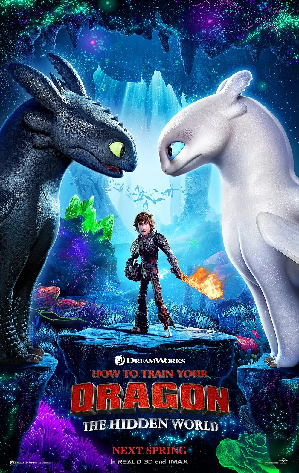How to Train Your Dragon 3 Poster Has Toothless Finding ...