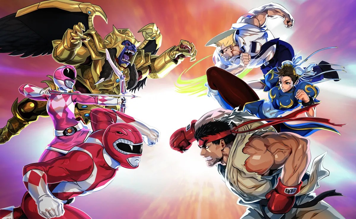 Power Rangers: Legacy Wars Mobile Game Adds Street Fighter ...