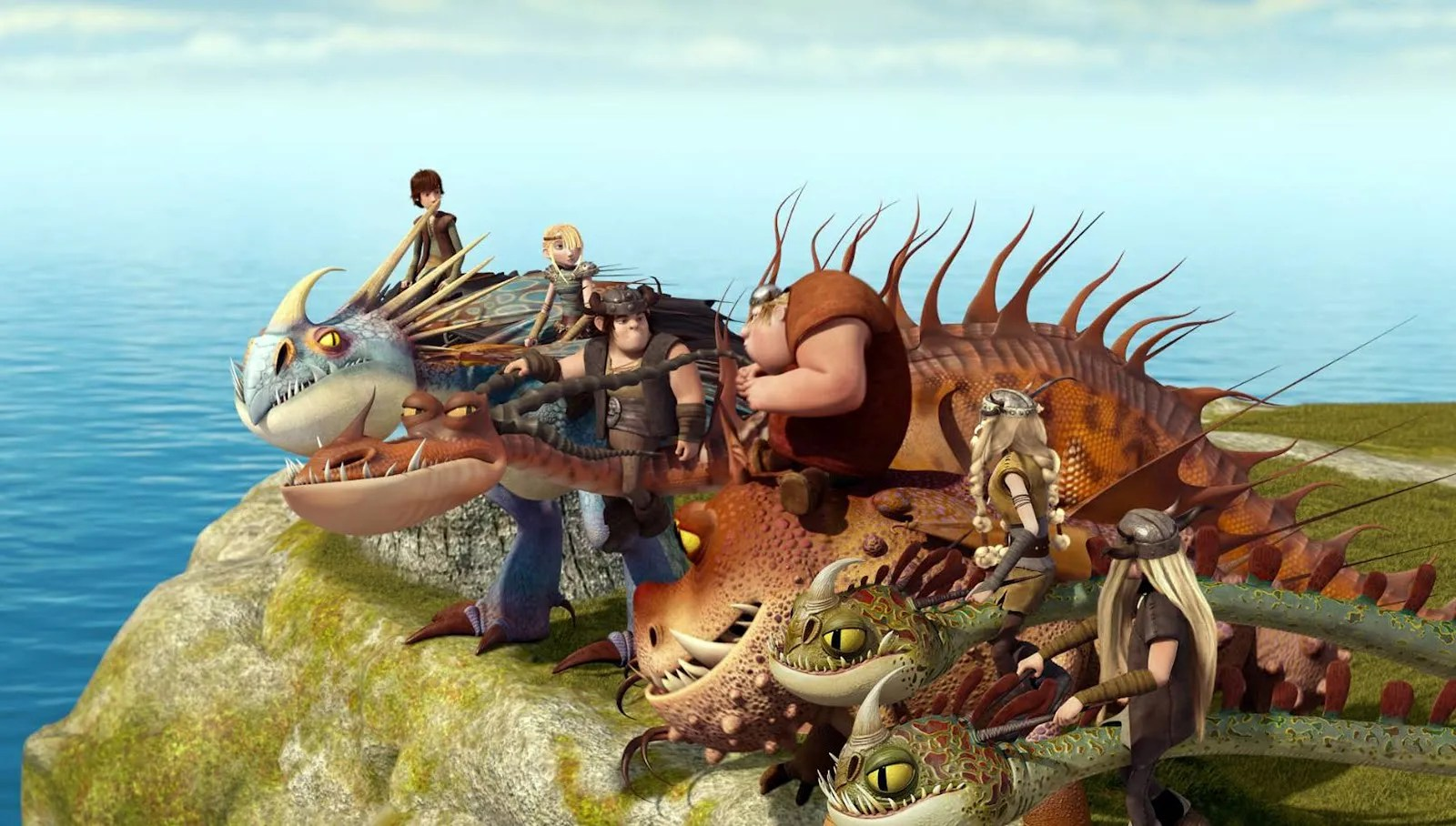 First Clip from DREAMWORKS DRAGONS: RIDERS OF BERK   Collider