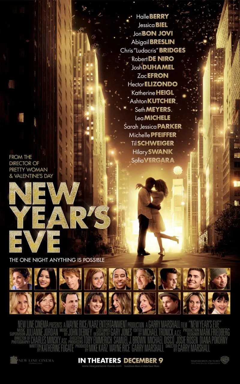 NEW YEAR S EVE Movie Clips   Collider new years eve movie poster banner 01