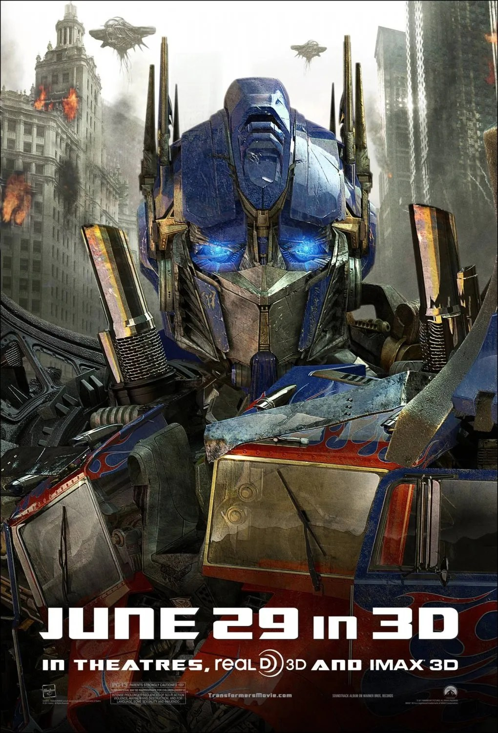 TRANSFORMERS: DARK OF THE MOON Movie Trailer and Posters ...