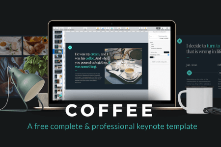 Top 30 Free Templates for Apple Keynote 2018   Colorlib Do you run a coffee business  In any case  you ve found the Keynote template  for you  from Leser Loic  It goes without saying that the Coffee template  can