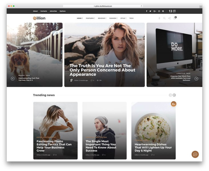 43 Best Fashion Blog   Magazine WordPress Themes 2018   colorlib 43 Best Fashion Blog  Magazine  ECommerce And Photography WordPress Themes  2018