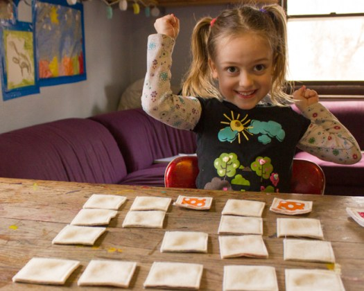 Handmade Memory Games Crafted from Sustainable Supplies     Crafting a     felt and fabric matching game  2 of 2