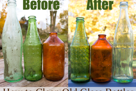 How to Clean Old Glass Bottles How to Clean Old Glass Bottles png