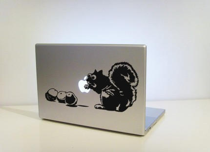 Nut Job Animal Laptop Stickers Cult Of Mac