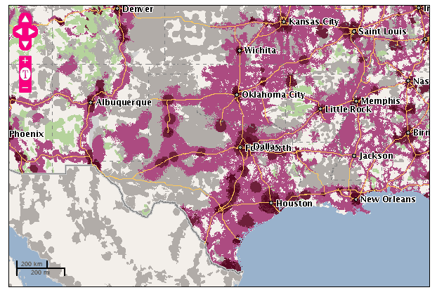 App Displaying Cellular Coverage Falters Vendor Maps Are Better     T Mobile data coverage map